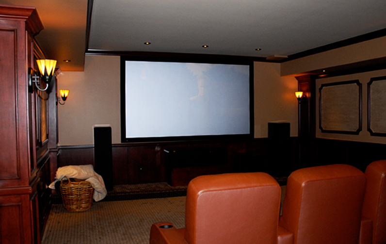 Wasserson Design Custom Home Theater Design Installation For Philadel